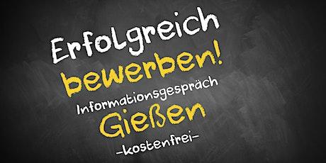 Bewerbungscoaching Online kostenfrei - Infos - AVGS Gießen Tickets