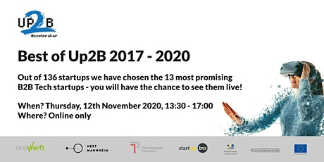 Best of Up2B Accelerator 2017 - 2020 Tickets