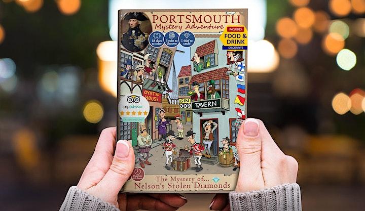 The Mystery of Nelson's Stolen Diamonds: Portsmouth Treasure Hunt Adventure image