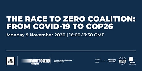 The Race to Zero Coalition: From COVID-19 to COP26 tickets