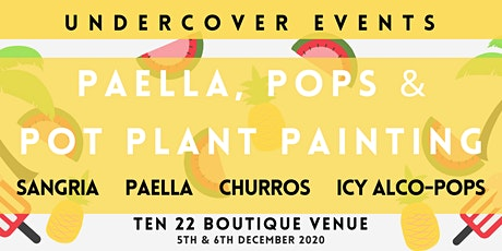 PAELLA, POPS & POT PLANT PAINTING tickets