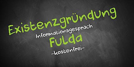 Existenzgründung Online kostenfrei - Infos - AVGS  Fulda Tickets