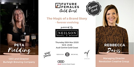 The Magic of a Brand Story I Future Females Gold Coast tickets