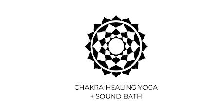 Chakra Healing Yoga + Sound Bath *Virtual* tickets