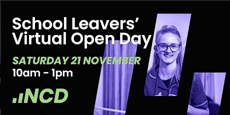School Leavers' Virtual Open Day tickets