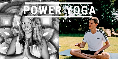 Power Yoga Jersey with Sharnelle & Joe (Strengthen, Stretch & De-stress) tickets