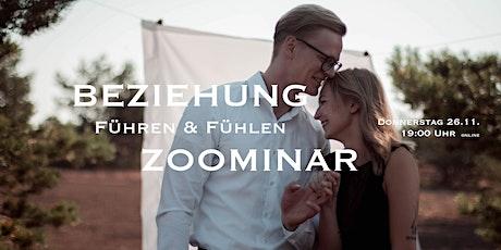 BEZIEHUNG -FÜHREN & FÜHLEN - ZOOMINAR Tickets