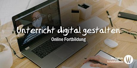 """Fortbildungstag """"Unterricht digital gestalten"""" Tickets"""