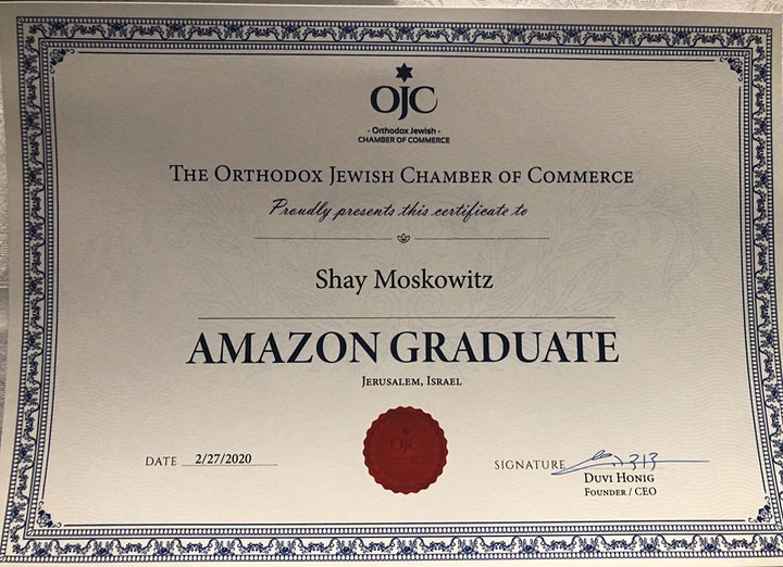 2 Day  Crash Course: Learn How To Sell on AMAZON in Person or by ZOOM image