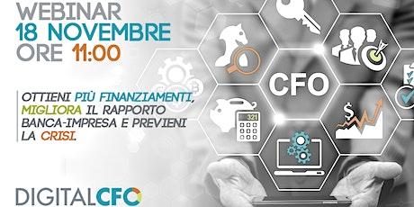 WEBINAR GRATUITO DIGITAL CFO|  18 NOVEMBRE 2020 biglietti