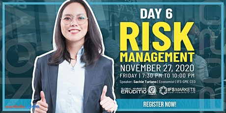 Free Six-Day Forex Trading Webinar Series - Day 6 Risk Management tickets