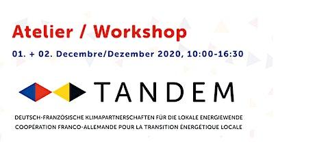 Workshop/Atelier TANDEM 01 & 02 décembre 2020 Tickets