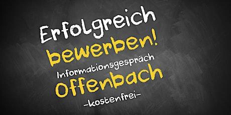 Bewerbungscoaching Online kostenfrei - Infos - AVGS Offenbach Tickets