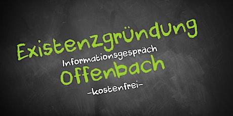Existenzgründung Online kostenfrei - Infos - AVGS  Offenbach Tickets