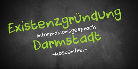 Existenzgründung Online kostenfrei - Infos - AVGS  Darmstadt Tickets