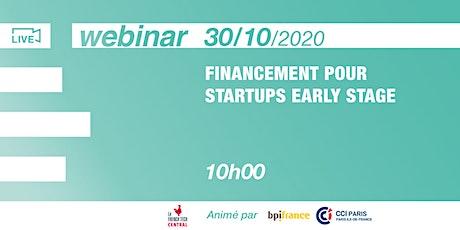 Webinar #Financement @CCIPARIS & @Bpifrance billets