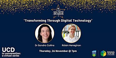 Conversation IV - 'Transforming Through Digital Technology' tickets