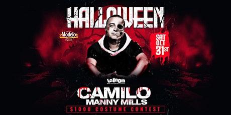 Halloween w/ dj Camilo  $1,000 costume contest tickets