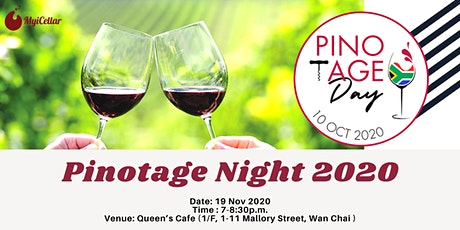 Pinotage Night 2020 tickets