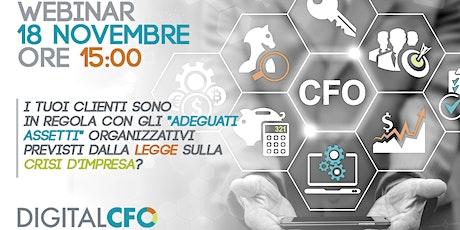 WEBINAR GRATUITO DIGITAL CFO|  18 NOVEMBRE 2020| h 15:00 biglietti