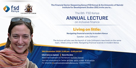 The 6th FSD Kenya annual lecture on inclusive finance tickets