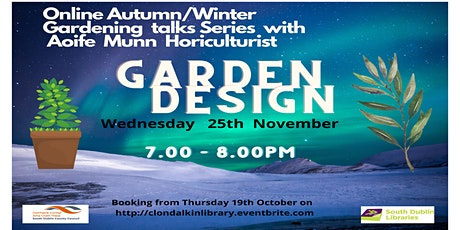 Garden Design talk with horticulturist Aoife Munn tickets