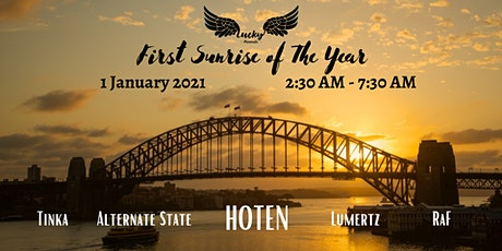 "Boat Party // Lucky Presents ""First Sunrise of the Year"" ft Hoten tickets"