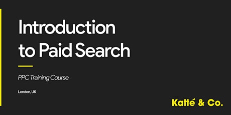 Introduction to Paid Search (PPC) Training Course tickets