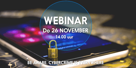 Be aware, Cybercrime is everywhere. tickets