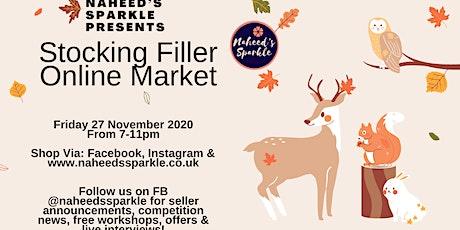 Online stocking filler craft market tickets