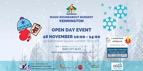 Open Day Event - MRN Kennington tickets