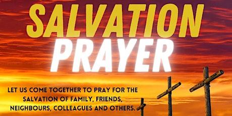 Salvation Prayer tickets