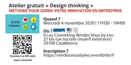 Atelier Gratuit Design Thinking billets