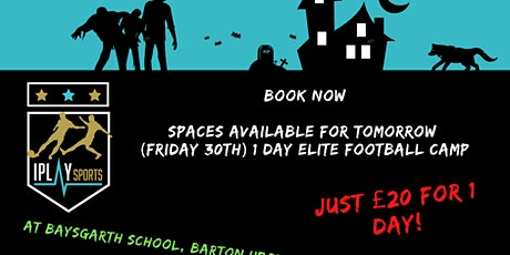 IPlay Sports Elite Football 1 day camp (Friday 30th Oct) tickets
