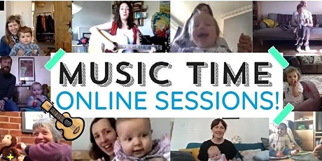 Music Time Online  Tuesday 3rd November tickets