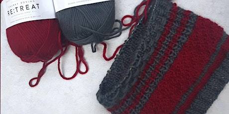 Knit your own cowl  (Design #1 - In Person or Online) tickets