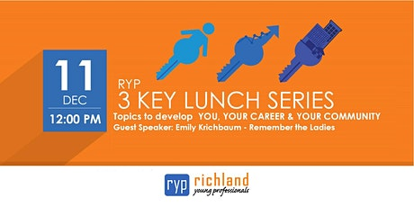 RYP 3 KEY Lunch Series - December tickets
