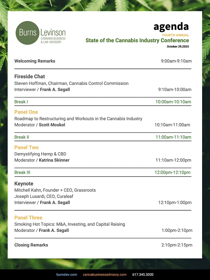 The Fourth Annual State of the Cannabis Industry Conference image
