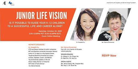 Live Q&A and Replay: How to raise creative leaders with life vision? tickets