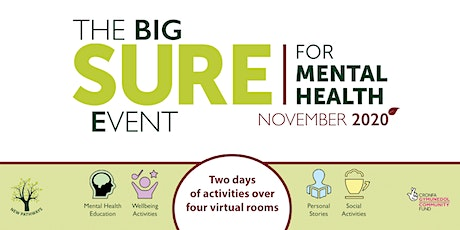 The BIG SURE for Mental Health Event - The Challenges of Living with OCD tickets