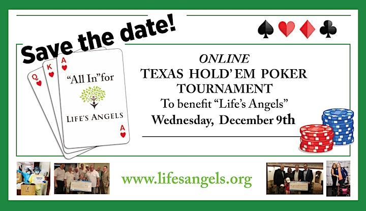 Online Texas Hold'em Poker Tournament Sponsored by IMS Marketing image