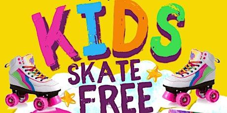 Kid Skate Free in November at Skate World tickets