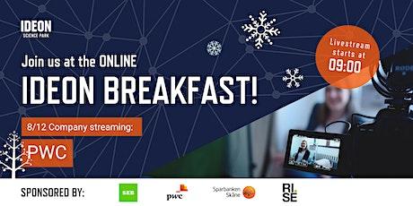 Ideon Breakfast Online with PWC