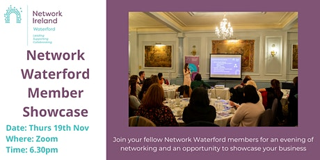 Network Waterford Members Showcase tickets