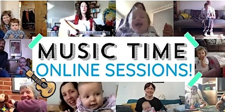 Music Time Online Thursday 5th November tickets