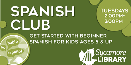 Spanish Club for Elementary Students:  Time/ir