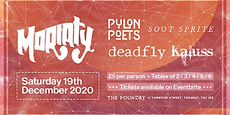 Band Night at The Foundry featuring Moriaty tickets