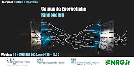 Comunità Energetiche Rinnovabili biglietti