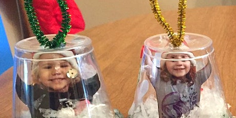 Snow Globe Cup Ornament Kit - A Gift for Your Grandparents! tickets