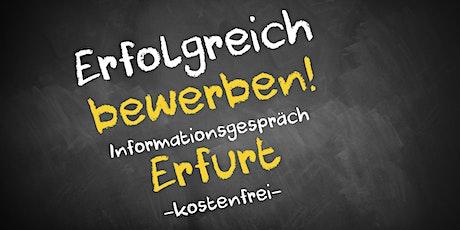 Bewerbungscoaching Online kostenfrei - Infos - AVGS Erfurt Tickets